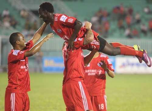 B.Bình Dương vớt vát được 1 trận hòa ở Champions League châu Á