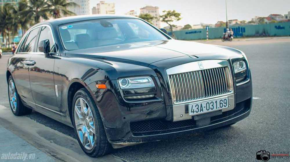Với số lượng lên đến 3 chiếc chứng tỏ Rolls-Royce Ghost được các đại gia ở đây khá ưa chuộng.