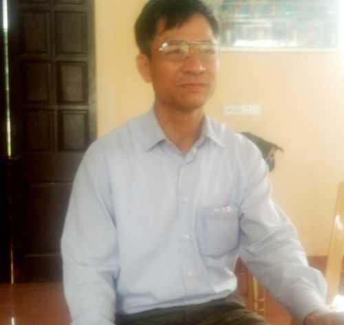 Ông Trần Quốc Tuệ, Chủ nhiệm Hợp tác xã thôn Bản Định