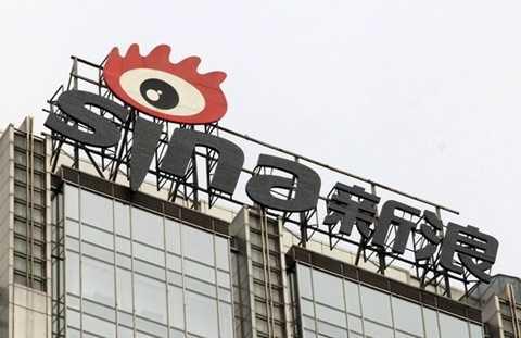 Trụ sở trang tin Sina, trang tin được cho là lớn nhất Trung Quốc hiện nay
