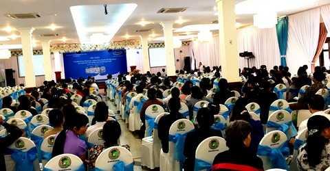 Hội thảo đã thu hút đông đảo người cao tuổi tại Đắk Lắk tham dự