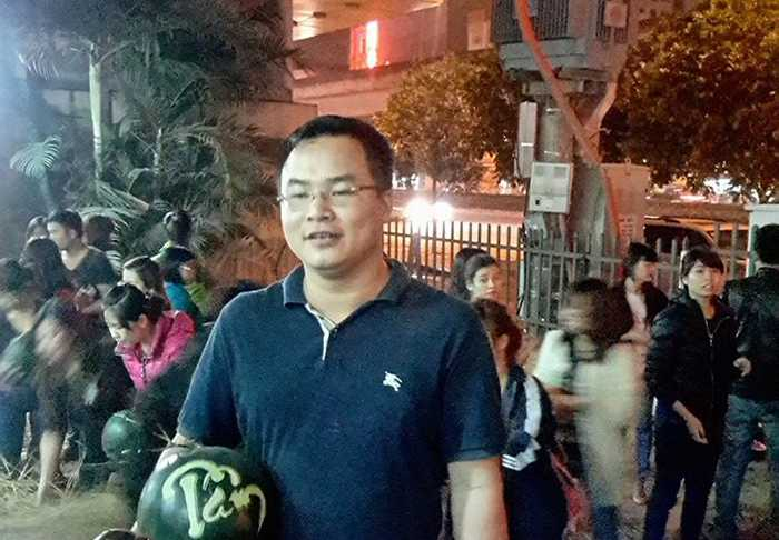 Anh Đặng Như Quỳnh là một trong những người đầu tiên kêu gọi mọi người mua dưa ủng hộ người nông dân Quảng Nam