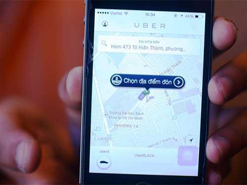 Uber tung ra gói dịch vụ taxi giá rẻ vào ngày 7/4