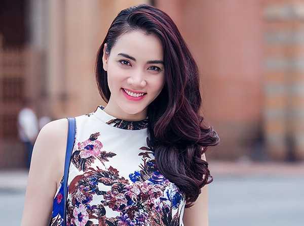 Trang Nhung hạnh phúc khi sinh được con gái đầu lòng.