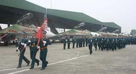 Tiêm kích Su-30MK2 của Trung đoàn 923.