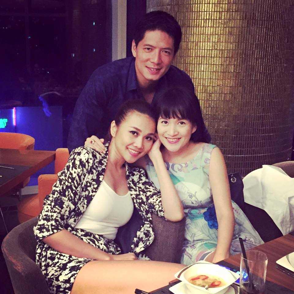 Thanh Hằng là bạn bè thân thiết của gia đình Bình Minh - Anh Thơ.