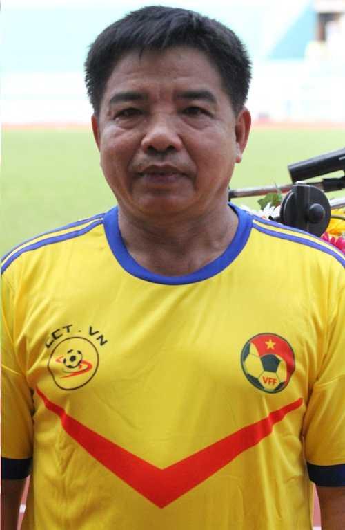 Cựu tiền đạo của Phú Khánh cũ - Phạm Ngọc Hùng (ảnh: Hoàng Tùng)