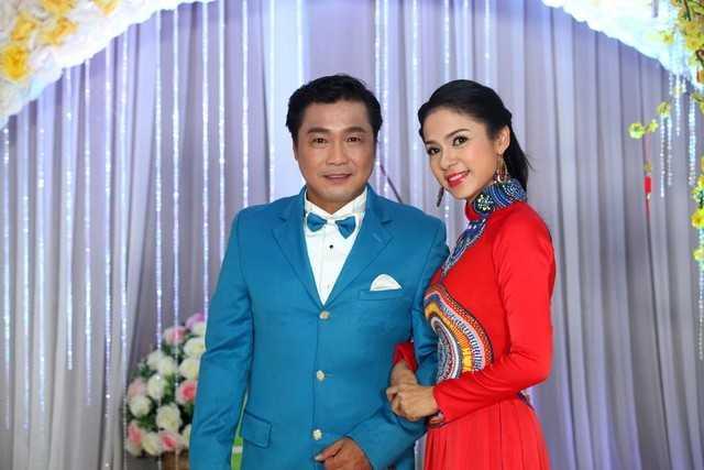Lý Hùng và bạn diễn ăn ý Việt Trinh một thời. Ảnh: Khánh Vy.