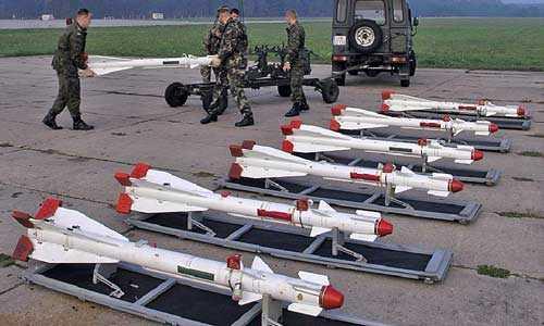 Tên lửa không đối không R-60.
