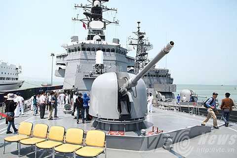 Tàu khu trục JS KIRISAME (DD-104)sở hữu những thiết bị quân sự tối tân