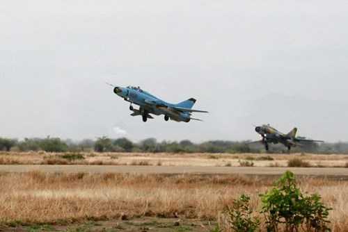 Máy bay tiêm kích bom Su-22 (Ảnh: TNO)