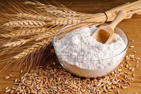 Bột mì rất giàu gluten.