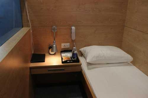 Hộp ngủ được thiết kế đẹp, giúp du khách thoải mái nghỉ ngơi. Ảnh: VATC