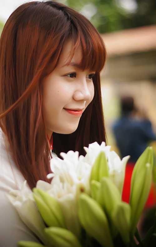 Hoa loa kèn  đã trở thành một nét đẹp đặc trưng của Hà Nội