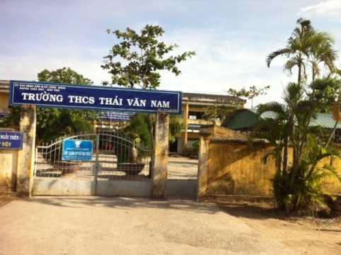 Trường THCS Thái Văn Nam, huyện Gò Công Đông, tỉnh Tiền Giang