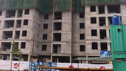 Giá nhà ở xã hội tại Hà Nội còn gây nhiều tranh cãi (trong ảnh là nhà ở xã hội Tây Nam Linh Đàm-Hà Nội).