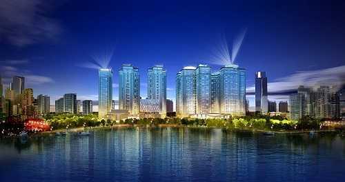 Goldmark City là tổ hợp nhà ở cao cấp, văn phòng và thương mại quy mô lớn.