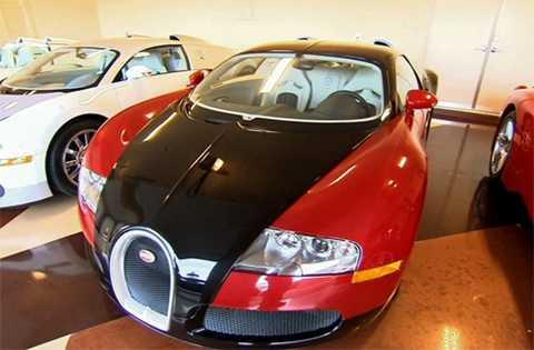 Bugatti Veyron cũng có giá tương tự.