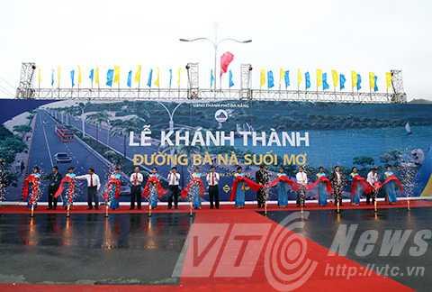 Sáng cùng ngày, UBND thành phố Đà Nẵng, Sở Giao thông vận tải thành phố và Tập đoàn SunGroup đã tổ chức Lễ khánh thành công trình đường Hoàng Văn Thái nối dài đi Bà Nà, mang tên đường Bà Nà - Suối Mơ