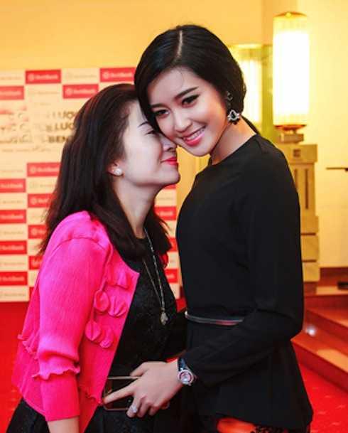 Chị Phương và con gái Huyền My