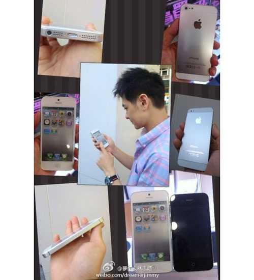 Hình ảnh trên tay iPhone 5 của Lâm Chí Dĩnh