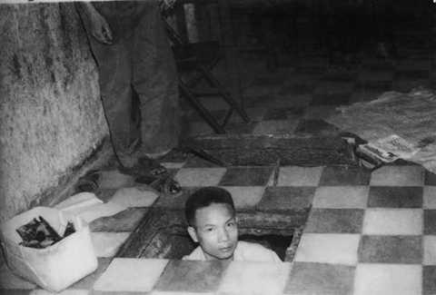 Ông Trần Văn Lai với căn hầm bí mật chứa vũ khí