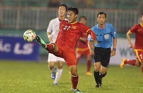 Chân sút dưới 23 tuổi Mạc Hồng Quân sẽ chơi cả SEA Games lẫn vòng loại World Cup