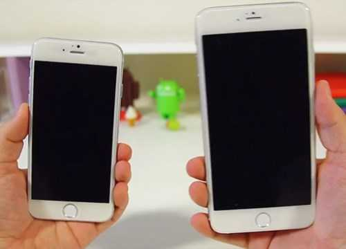Hình ảnh được cho là của iPhone 6 và iPhone 6 Plus trên GSMArena trước ngày ra mắt