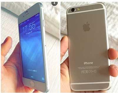 Một trong những hình ảnh rò rỉ khác về iPhone 6