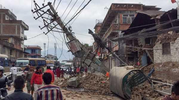 Nepal đã tuyên bố quốc tang 3 ngày sau trận động đất kinh hoàng