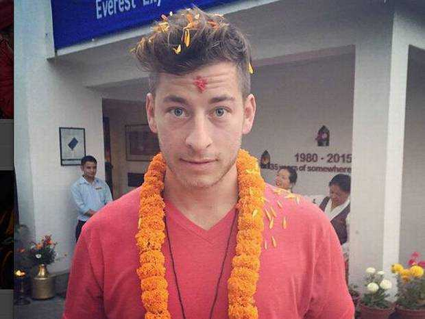Dan Fredinburg - nạn nhân của thảm họa động đất Nepal
