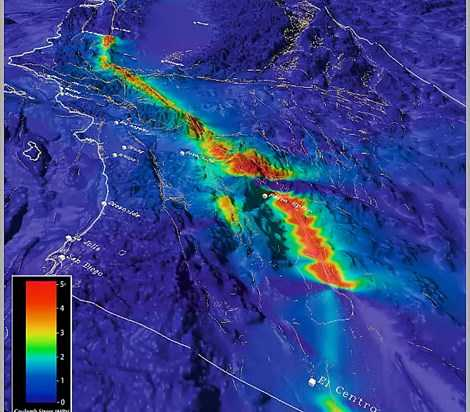Các mảng địa chất đang có nhiều biến động và tích tụ rất nhiều năng lượng dồn nén