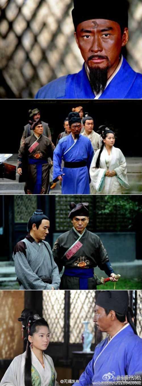 Phim ngoài các vụ án còn đề cập chuyện tình của hai cha con Bao Thanh Thiên.