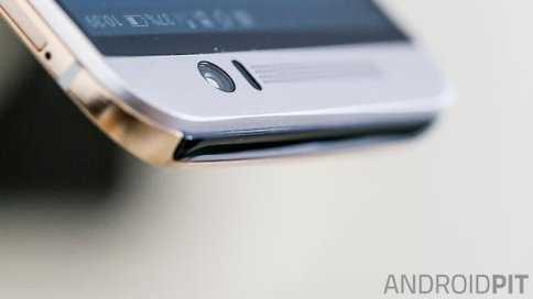 Cổng hồng ngoại trên đỉnh HTC One M9 biến nó thành một chiếc điều khiển đa năng