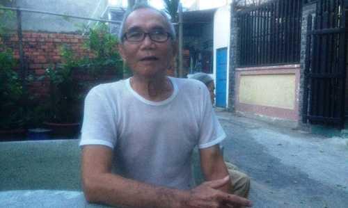 Bác Nguyễn Văn Hơn kể lại vụ việc.