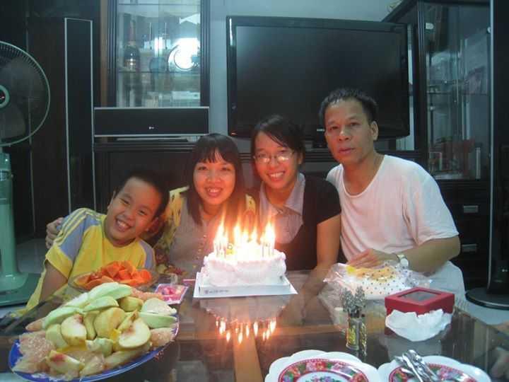 Khi còn ở Việt Nam, Đỗ Nhật Nam thường xuyên được bố mẹ tổ chức những buổi sinh nhật ấm cúng