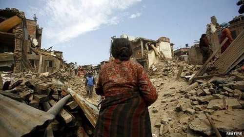 Hình ảnh Nepal hoang tàn sau trận động đất lịch sử