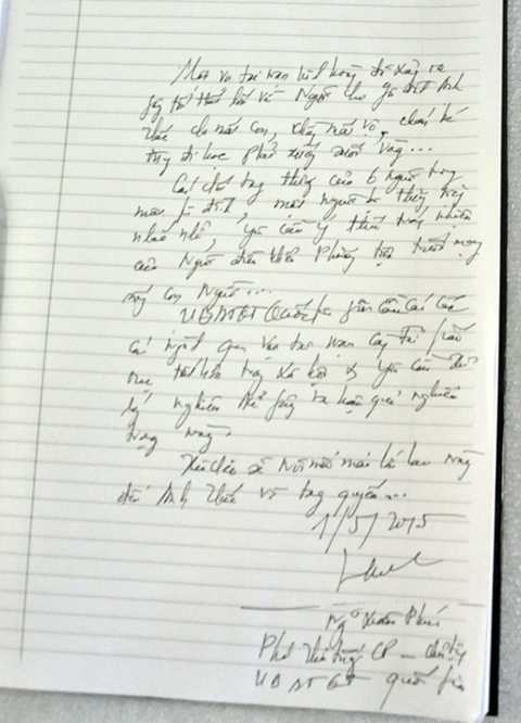 Những dòng chia sẻ của Phó Thủ tướng Nguyễn Xuân Phúc với gia đình ông Thức