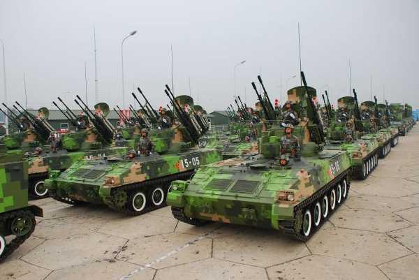 Hệ thống pháo - tên lửa phòng không tự hành Type 95 SPAAA