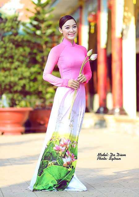 Cô gái xinh đẹp Đỗ Thúy Diễm (sinh năm 1993) hiện là diễn viên múa của đoàn văn công Đồng Tháp