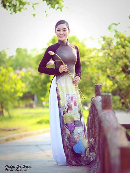 Áo dài không chỉ là biểu tượng của phái đẹp mà còn là biểu tượng của vẻ đẹp đất nước, con người Việt Nam