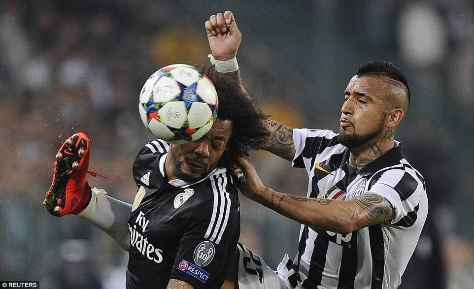 Vidal vs Marcelo