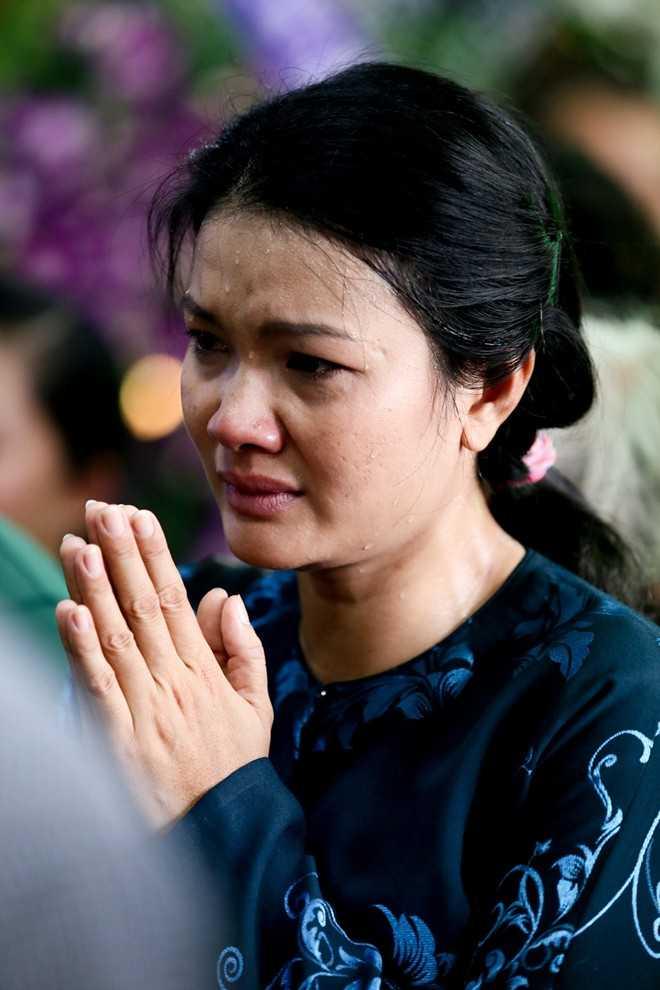 Nữ diễn viên Kiều Trinh- dì Duy Nhân thương xót cháu.