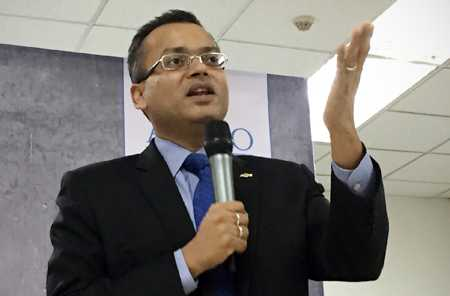 CEO Gaurav Gupta đã làm việc cho GM Vietnam từ năm 2011. Ảnh: T.B