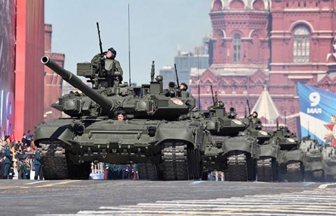 Xe tăng Armata được cho là một trong những niềm mong đợi lớn nhất của quân đội Nga trong tương lai