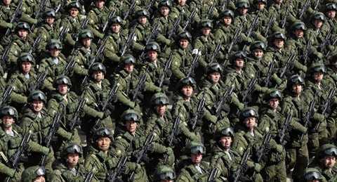 Hàng ngàn binh lính Nga sẽ tham gia duyệt binh ở Quảng trường Đỏ