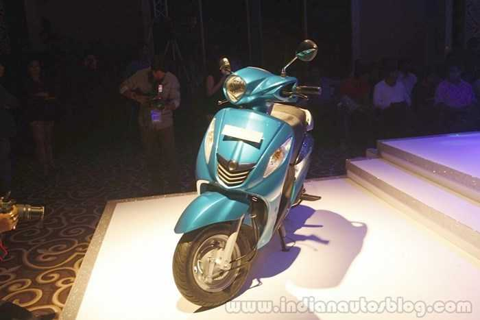 Yamaha Fascino mới ra mắt tại Ấn Độ