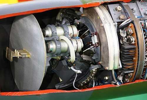 Radar xung doppler 1SB4.