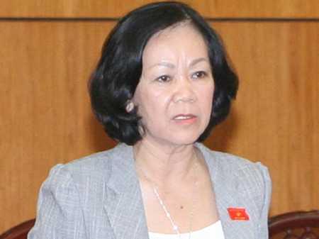 Chủ nhiệm Ủy ban các vấn đề Xã hội - Trương Thị Mai