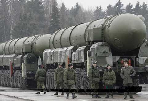 Hệ thống phòng thủ tên lửa của quân đội Nga. (Nguồn: andrewtheprophet.wordpress.com)